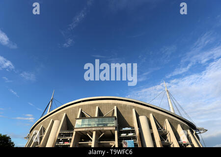 FILE : General view of City of Toyota Stadium venue for the Rugby World Cup 2019 which will be held in Japan. Image taken JUNE 23, 2018 - Rugby : Rugby test match between Japan 28-0 Georgia at Toyota Stadium in Aichi, Japan. Credit: AFLO/Alamy Live News - Stock Image
