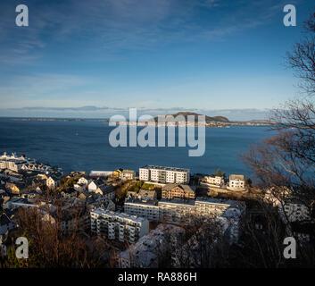 Modern housing, Alesund, Norway. - Stock Image