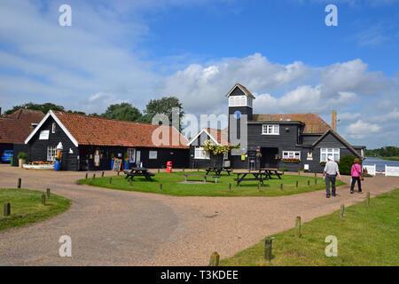 Thorpeness Boathouse, built 1912. Thorpeness, Suffolk, England, UK - Stock Image