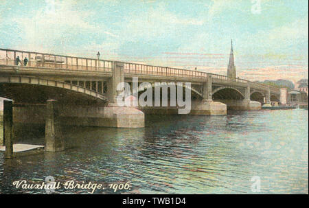 Date: 1906 - Stock Image