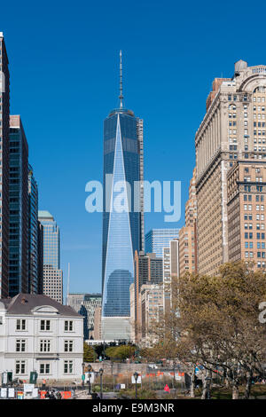 New York City Freedom Tower - Stock Image