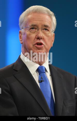 MICHAEL FALLON MP, 2017 - Stock Image