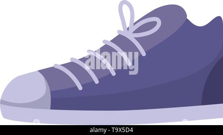 Shoe design, Cloth fashion style wear shop retail and store theme Vector illustration - Stock Image