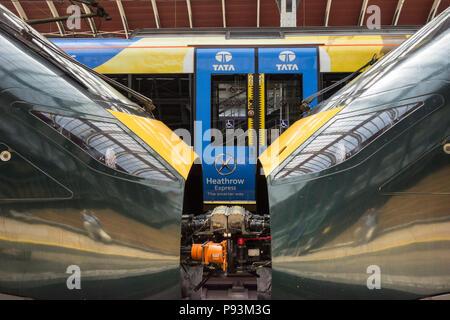 Class 800 Intercity Express Train - Stock Image