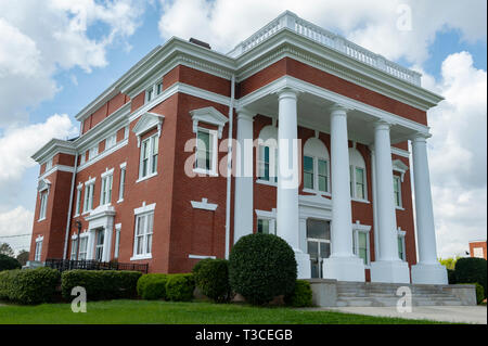 Murray County Courthouse in Chatsworth, Georgia - Stock Image