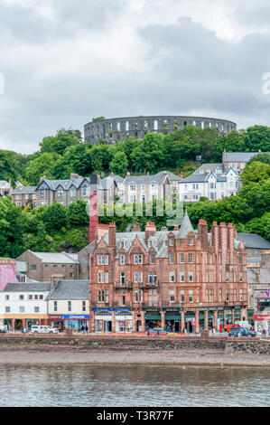 McCaig's Tower in Oban. - Stock Image