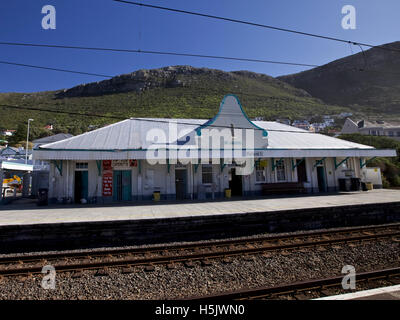 St James train station in Cape Town, South Africa  Cape Town, South Africa - April 23, 2010 - Stock Image