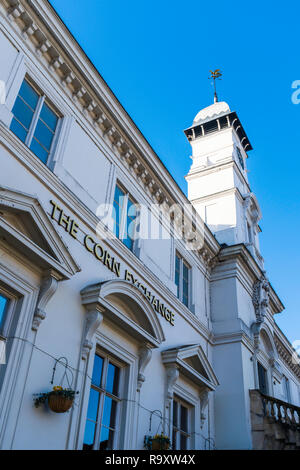 Leicester Corn Exchange. - Stock Image