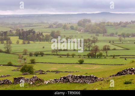 Trip to Derbyshire and the Peak District - Stock Image