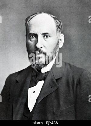 SANTIAGO RAMÓN y CAJAL (1852-1934) Spanish neuroscientist and pathologist - Stock Image