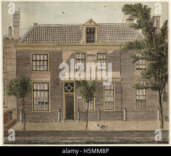 Oudegracht 1817 256 - Stock Image