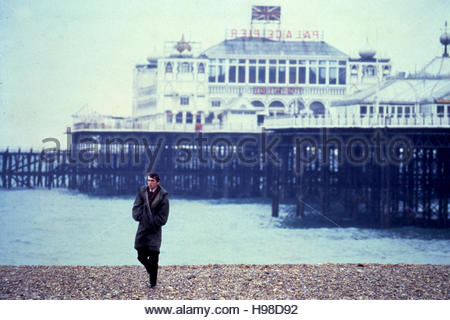 QUADROPHENIA (1979) - Phil Daniels on beach in Brighton, England Editorial use only.  Copyright belongs to film - Stock Image