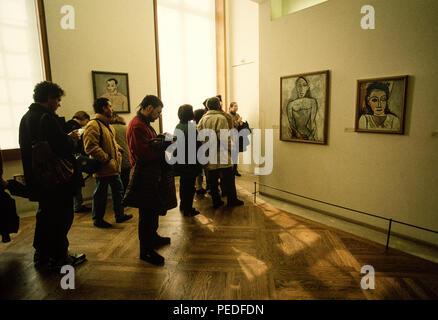 Paris France, Picasso Museum 1980. - Stock Image