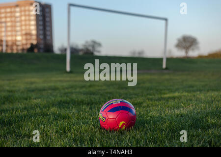 Grassroots Football - Stock Image