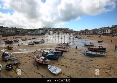 St.Ives Bay, Cornwall - Stock Image