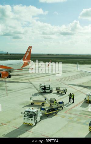 Corvera Airport, Murcia, Spain - Stock Image