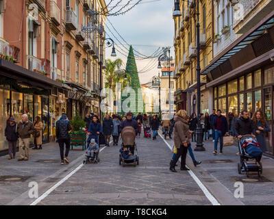 Corso Italia, Sorrento, Italy - Stock Image