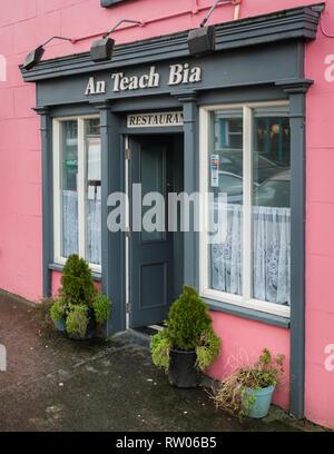 Ennistymon in County Clare in Ireland - Stock Image