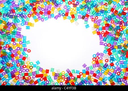 hama beads - Stock Image