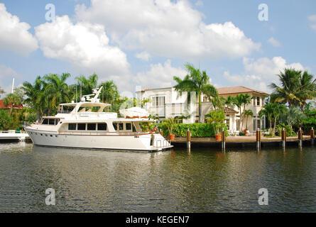 luxury real estate Florida - Stock Image