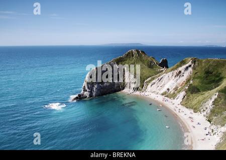 Dorset coastline,England,UK - Stock Image