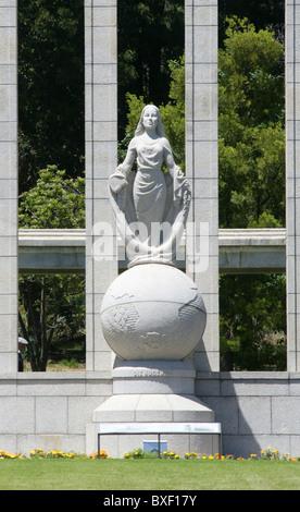Huguenot Memorial, Franschhoek, Western Cape, South Africa. - Stock Image