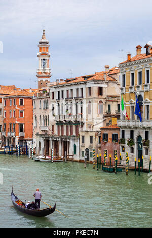 Grand Canal; Venice, Italy - Stock Image