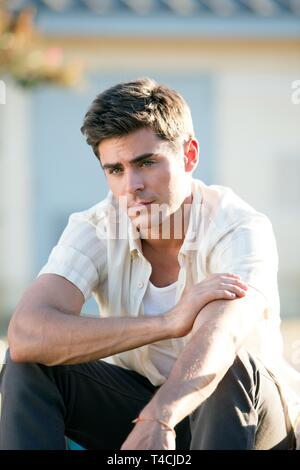 ZAC EFRON, WE ARE YOUR FRIENDS, 2015 - Stock Image