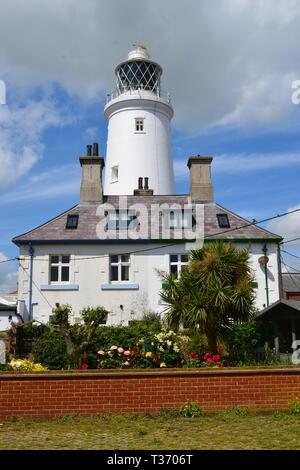 Southwold Lighthouse, Southwold Seaside Resort in Suffolk, UK - Stock Image