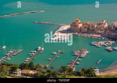 Castellammare del Golfo, Sicily, Italy - Stock Image