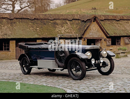 1922 Daimler 30HP 5.0 litre 2 door tourer. - Stock Image