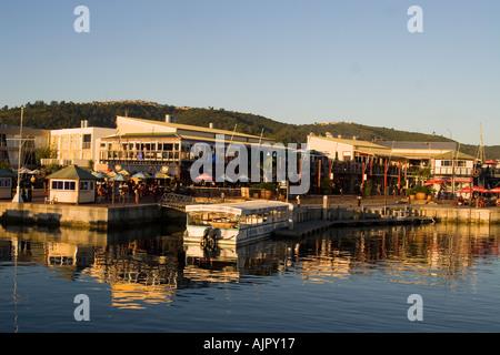 south africa garden route Knysna harbor destination - Stock Image