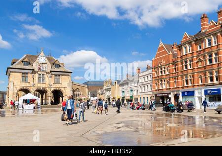 Peterborough Guildhall Cathedral Square Peterborough Peterborough Cambridgeshire England uk gb Europe - Stock Image