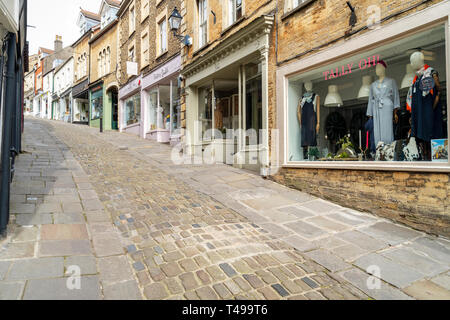 Catherine Hill in Frome Somerset UK - Stock Image