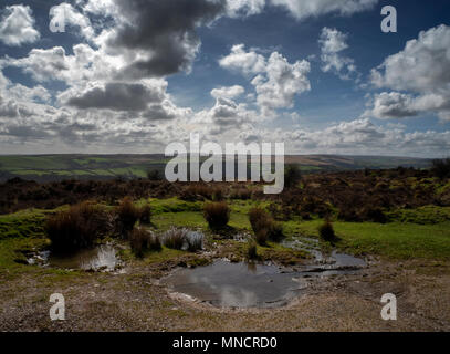Exmoor National Park - Stock Image