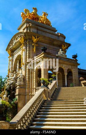 Citadel Park in Barcelona Spain - Stock Image
