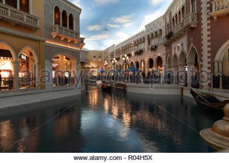The Venetian Hotel, Nevada - Stock Image