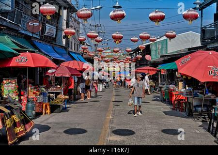 Chinatown Thailand, Huay Yai , Pattaya,  Southeast Asia - Stock Image