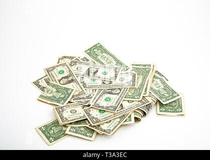 Pile of Money - Stock Image