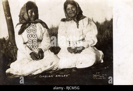 Native American Paiute Indian women, Elko, Nevada, USA. - Stock Image