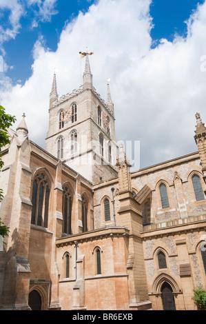 Southwark Cathedral, Southwark, London, England, United Kingdom - Stock Image