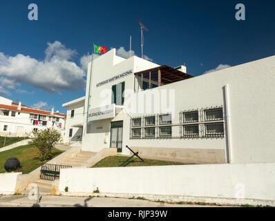 Posto da Policia Maritima de Albufeira A Police And Sheriffs Department In Albufeira Portugal - Stock Image