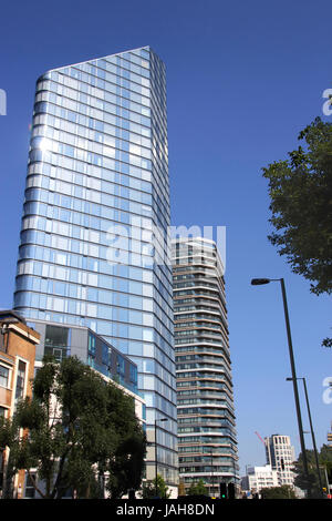 Lexicon apartment building Islington London - Stock Image