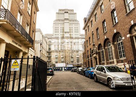 University of London building, University of London UK, London Architecture, building, Exterior, facade, Front - Stock Image