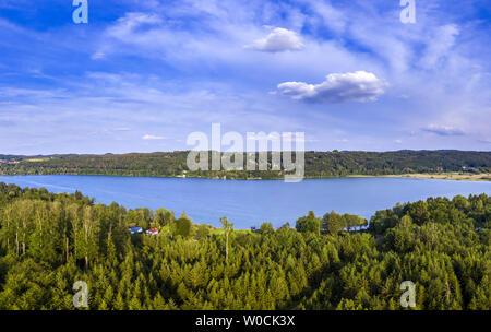 Pilsensee Lake, Bavaria, Germany - Stock Image