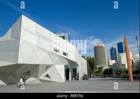 Tel Aviv Museum of Art, Tel Aviv, Israel - Stock Image