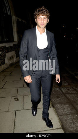 Eyal Booker out and about in London  Featuring: Eyal Booker Where: London, United Kingdom When: 17 Oct 2018 Credit: WENN.com - Stock Image