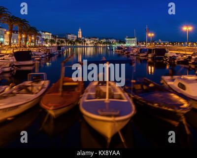 Split City Skyline, Croatia - Stock Image