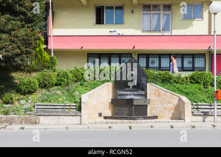 The spring of water in Mojkovac city in northern Montenegro, August 31, 2018. (CTK Photo/Libor Sojka) - Stock Image