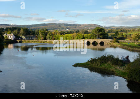 Ballydehob Road Bridge - Stock Image